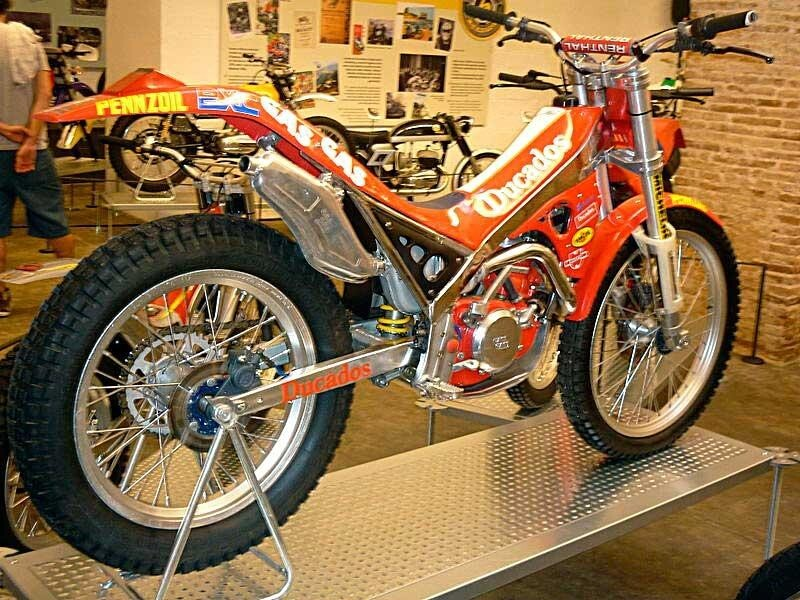 1993 Gas Gas Jordi Tarres Tank and rear fender