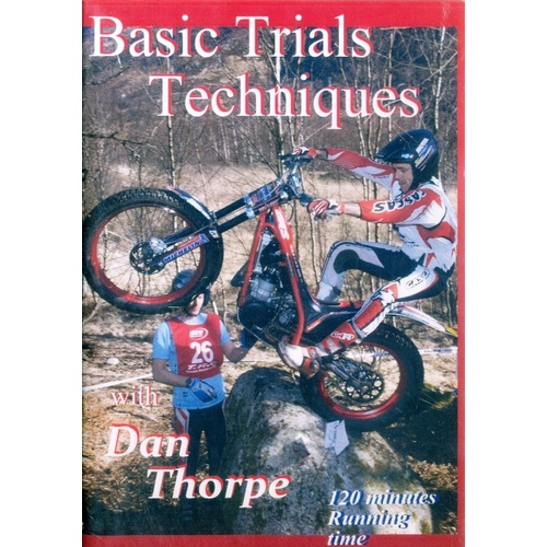 DVD Basic Trials Techniques - Dan Thorpe