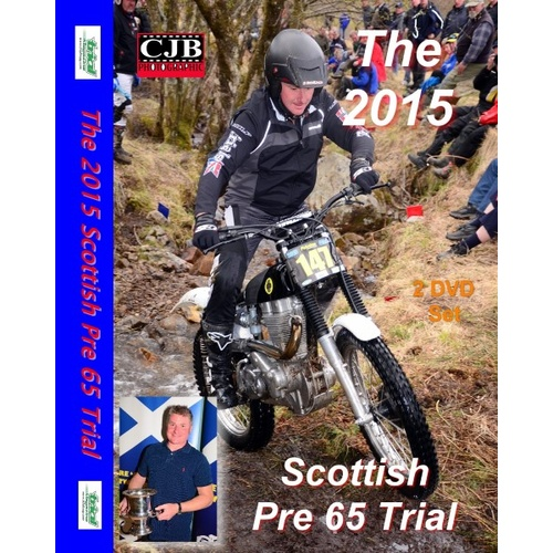 DVD Pre-65 Scottish Six Day Trial 2015