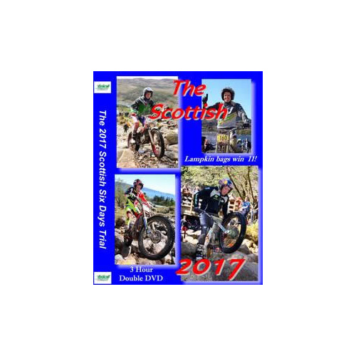 DVD Scottish Six Day Trial 2017